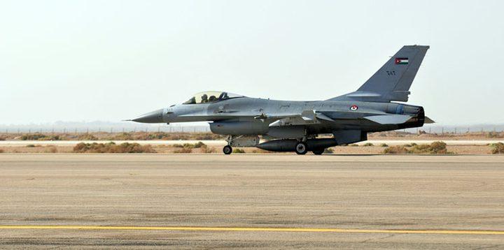 نجاة قائد طائرة F16 أردنية بعد سقوطها بنجران السعودية