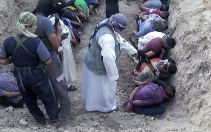 أربع آلاف جثة مشوهة ومقتولة داخل حفرة في الموصل