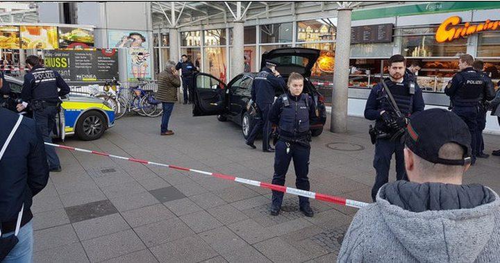 عملية دهس توقع 3 إصابات في ألمانيا