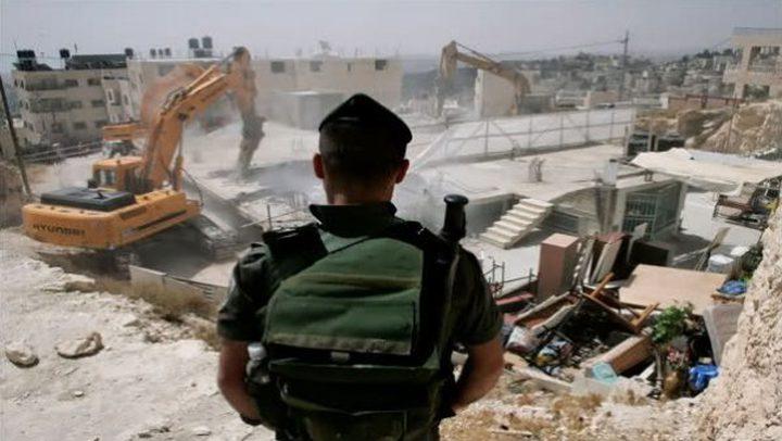 محكمة الاحتلال تجمد أوامر هدم 6 منازل في قلنسوة