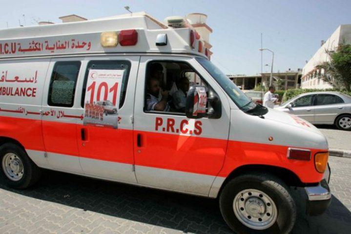 سبع إصابات بحادث إنزلاق في جنين