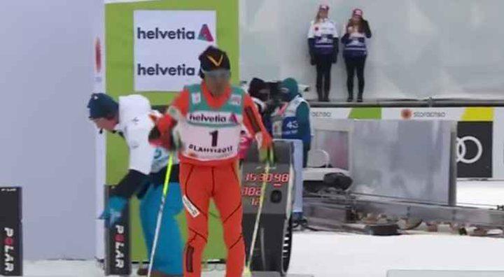 سولانا يحصد لقب أسوأ متزلج عالميا