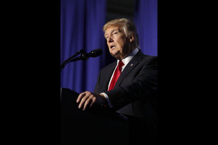 """ترامب يتعهد بالقضاء على """"تنظيم الدولة"""" أمام الكونجرس"""