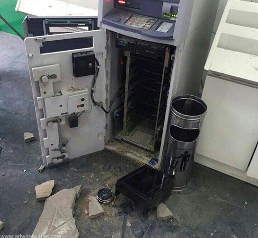 تفاصيل إحباط محاولة سرقة صراف آلي