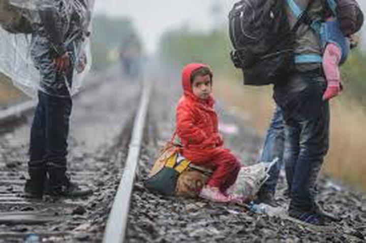"""""""فيديو"""" يظهر معاملة الشرطة الدنماركية لطالبي اللجوء من سوريا"""