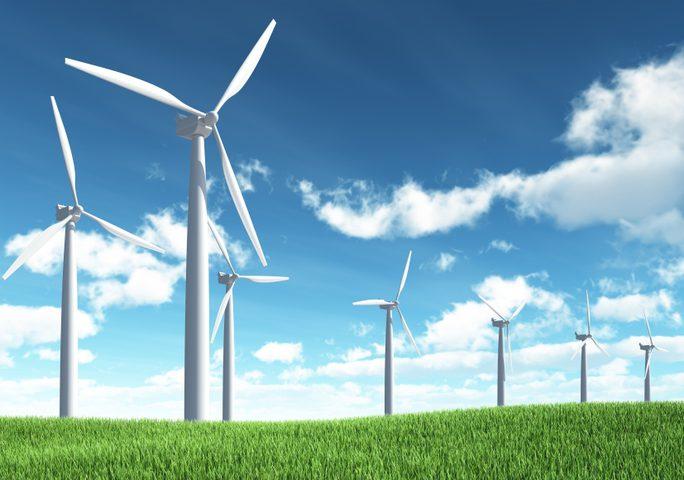 تشغيل الدنمارك ليوم كامل بطاقة الرياح
