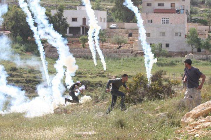 النبي صالح: اصابات في مواجهات