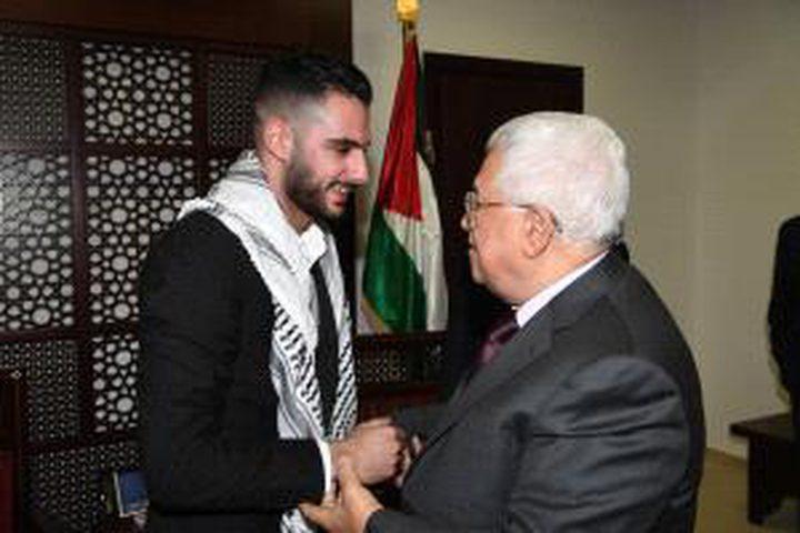 الرئيس يستقبل محبوب العرب