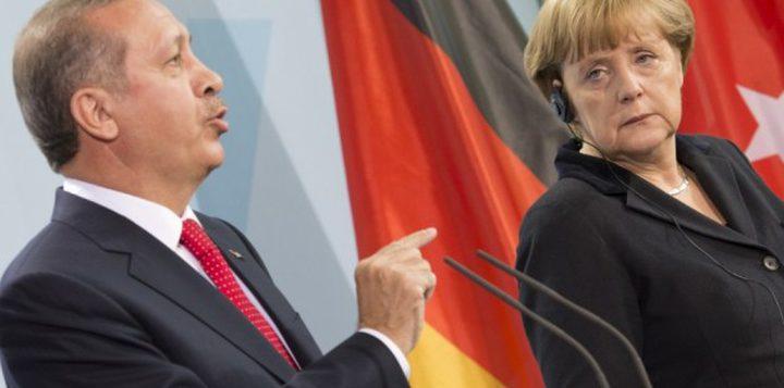 """أردوغان يصف منع المانيا مظاهرات مؤيده له بـ""""النازية"""""""