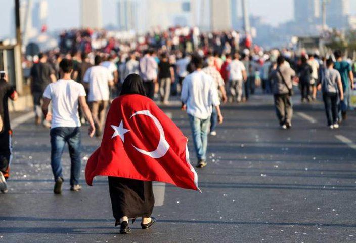تظاهرة نسائية دعما لاردوغان في اسطنبول