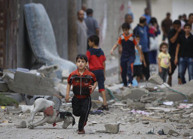 الانتهاكات بحق أطفال قطاع غزة مستمرة