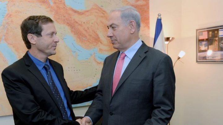 هارتس: نتنياهو قدم لهرتسوغ عرضا خطيا يتضمن مبادرة سلام اقليمية
