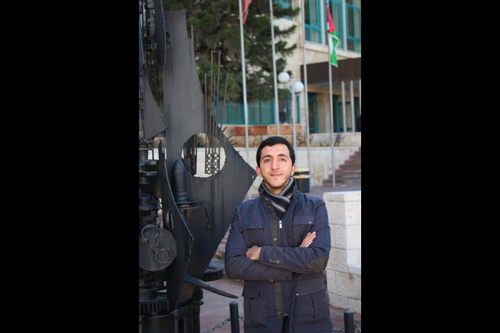 طالب من جامعة النجاح سفيراً لفلسطين في الشرق الأوسط