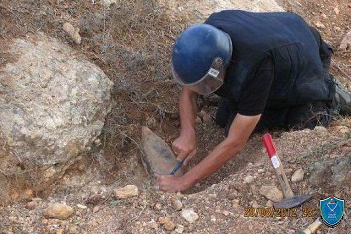 اتلاف صاروخ إسرائيلي جنوبي الخليل