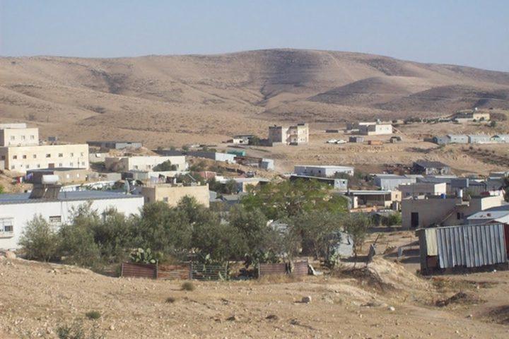 الاحتلال يوزع أوامر هدم في النقب