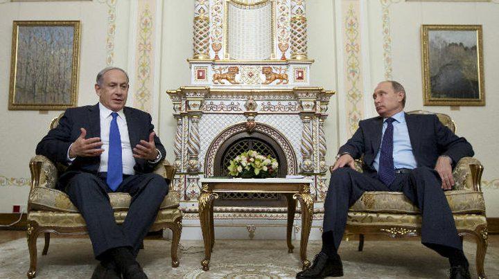 نتنياهو سينقل رسالة اسرائيلية اميركية لنظيره الروسي غدا