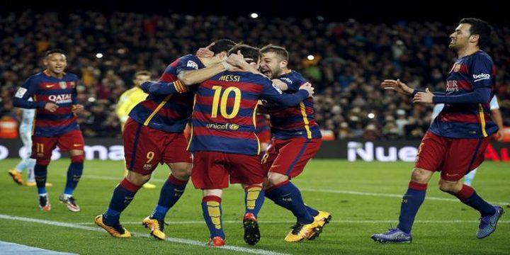 برشلونة أبرز المرشحين للفوز بدوري الأبطال