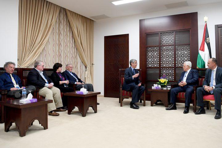 الرئيس يستقبل قيادة اتحاد الإصلاح اليهودي