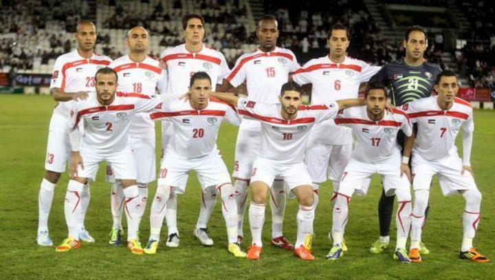 المنتخب الفلسطيني يتراجع في تصنيفات الفيفا