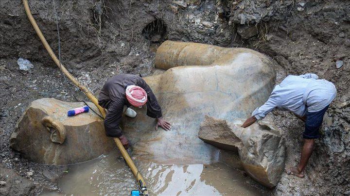 اكتشاف تماثيل ملكية عمرها نحو 3300 عام في مصر