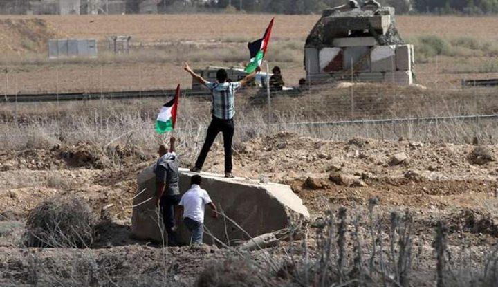 إصابة شاب برصاص الاحتلال في غزة