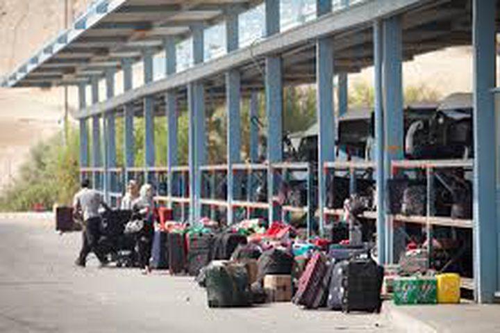 31 ألف مسافر وايقاف 34 اخرين عبر معبر الكرامة