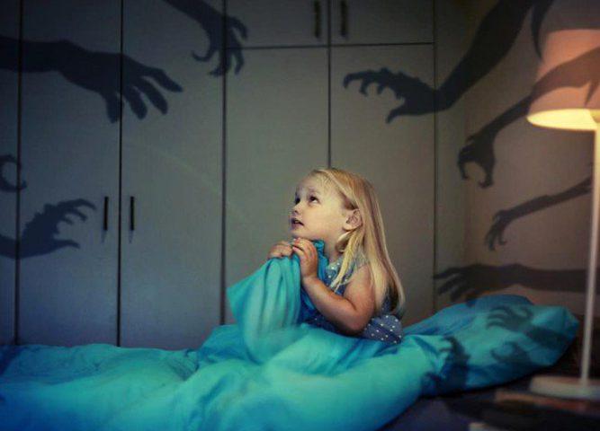 حلول خوف الأطفال من الظلام