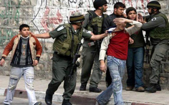 الاحتلال يعتقل مقدسيين قاصرين