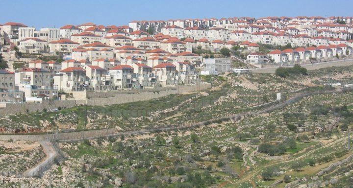 لجنة تشريع الاحتلال تنظر في قانون ضم مستوطنة معالي ادوميم