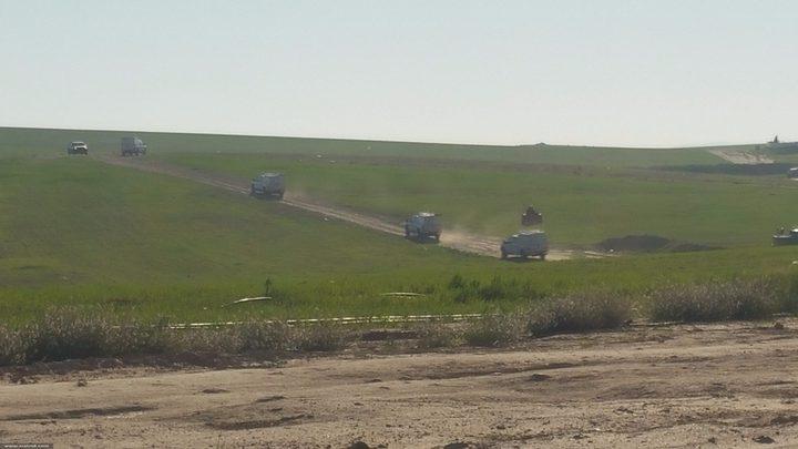 جرافات الاحتلال تدمر محاصيل النقب