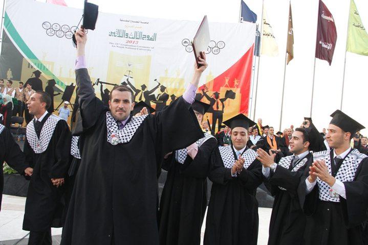 """""""فلسطين للتعليم"""" تقدم منحا دراسية لطلبة من """"النجاح"""""""