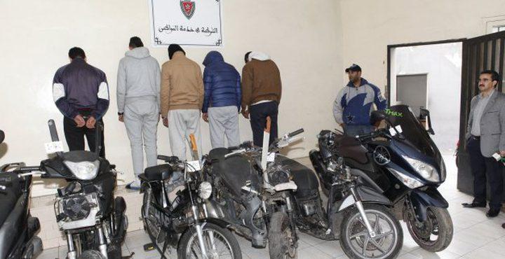 القبض على لصوص دراجات نارية في غزة