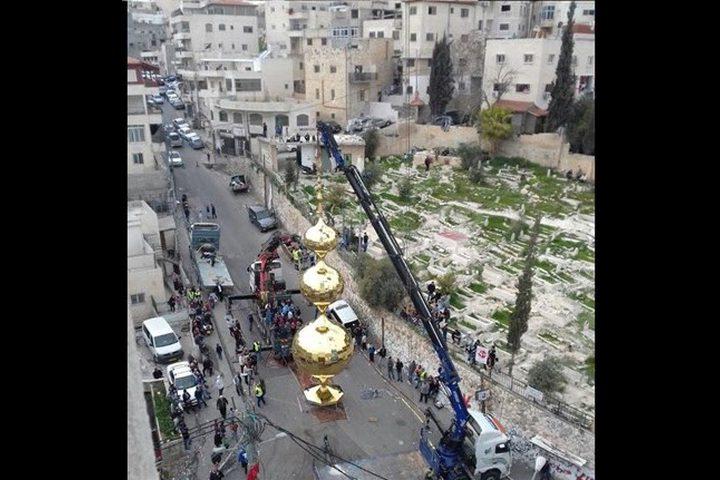 تدشين أطول مئذنة في مدينة القدس