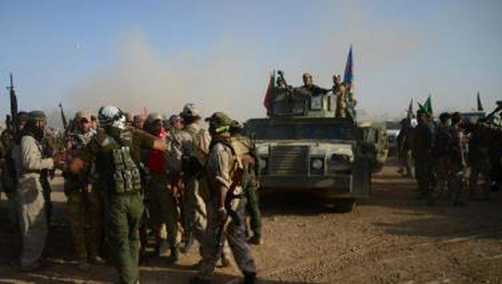 القوات العراقية تتقدم غربي الموصل