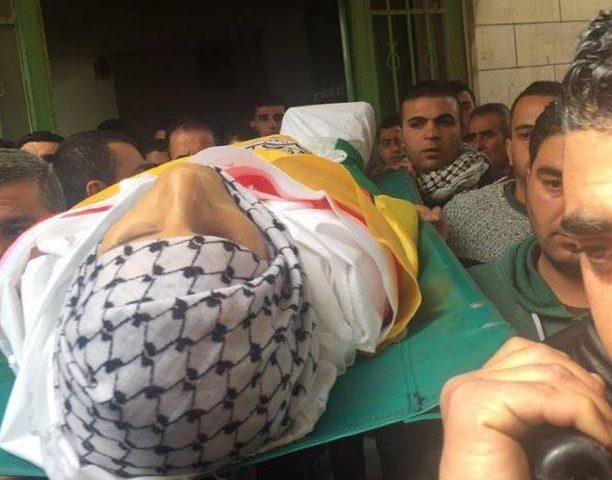 اصابة جندي اسرائيلي وخمسة متظاهرين خلال تشييع أبو غازي