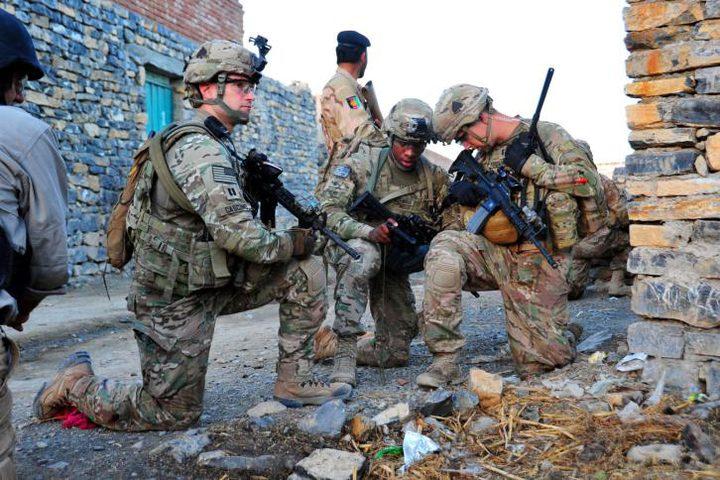 اصابة ثلاثة جنود اميركيين بنيران جندي افغاني