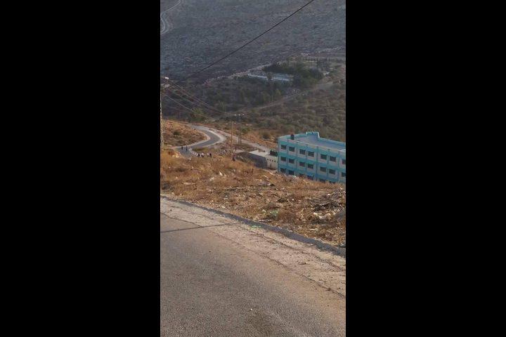 """""""كفر عبوش"""" .. الطريق الى المدرسة شاقة (صور)"""