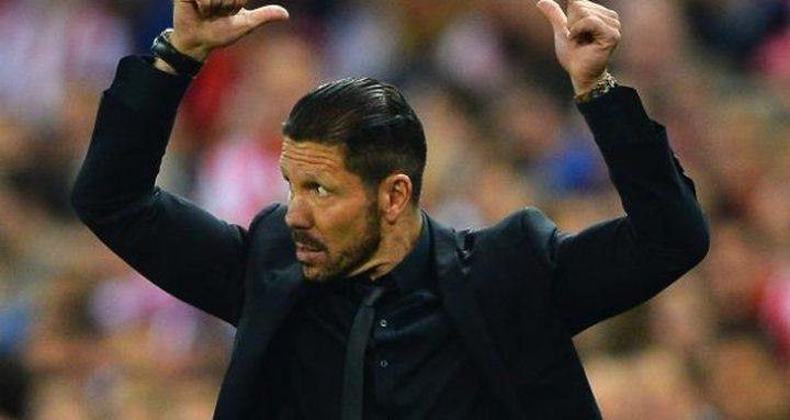 سيميوني: لا يمكن أن أدرّب ريال مدريد مستقبلا