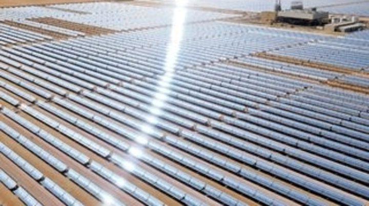 محطة للطاقة الشمسية بقدرة 200 ميغاوات في دبي