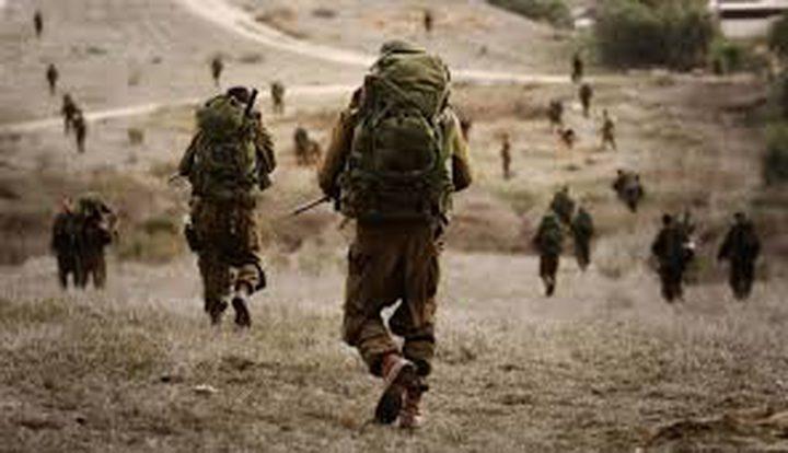 جيش الاحتلال يجري تدريبات في النقب
