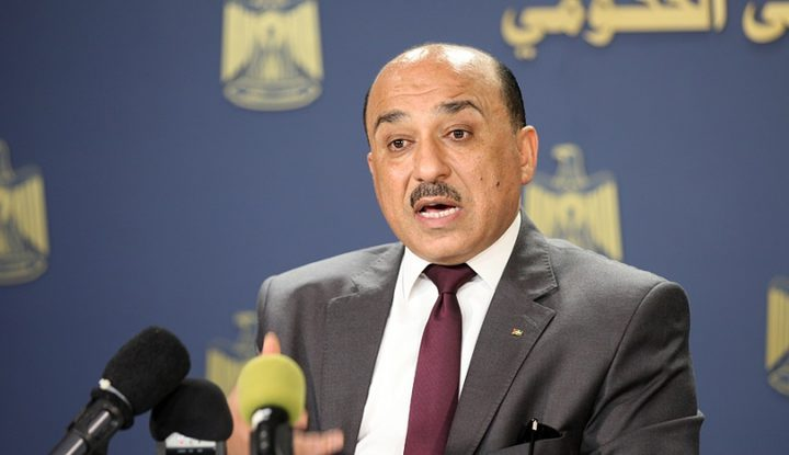 الوزير الحساينة: 80 مليون دولار منحة جديدة لاعمار قطاع غزة
