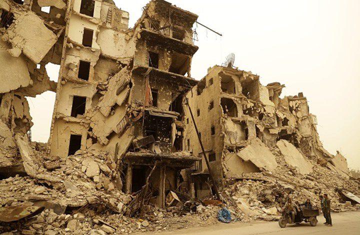 900 مليار دولار تكلفة إعادة إعمار سوريا