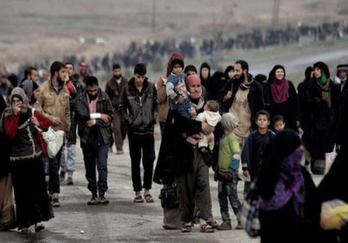 الخطر يهدد آلاف المدنيين غربي الموصل