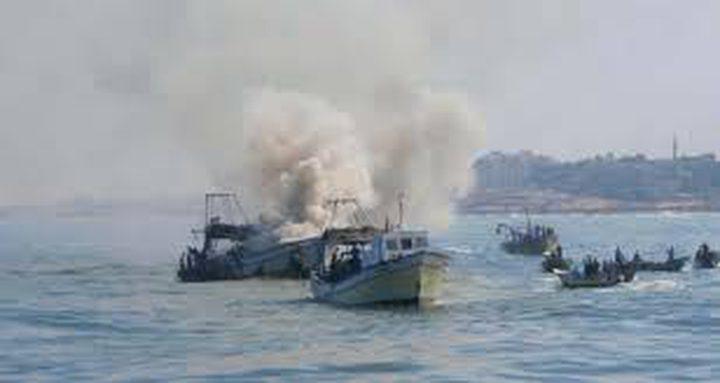 نيران الاحتلال تصيب صيادين من غزة