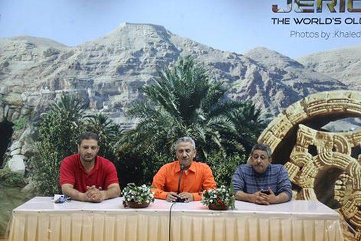 محافظة اريحا تسقبل مجموعة شبابية