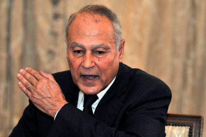 رغم نفي القيادة.. أبو الغيط: مبادرة فلسطينية جديدة