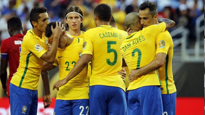 البرازيل تقترب من نهائيات كأس العالم