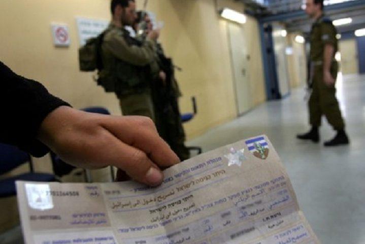 اسرائيل تقلص التصاريح الممنوحة لسكان القطاع