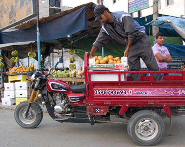 """في غزة """" التكاتك"""" مهنة النقليات لخريجي الجامعات"""