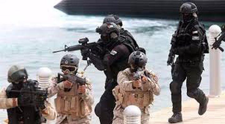 مناورات بحرية اردنية سعودية